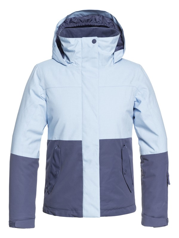 0 ROXY Jetty Block - Chaqueta Para Nieve para Chicas 8-16 Azul ERGTJ03059 Roxy