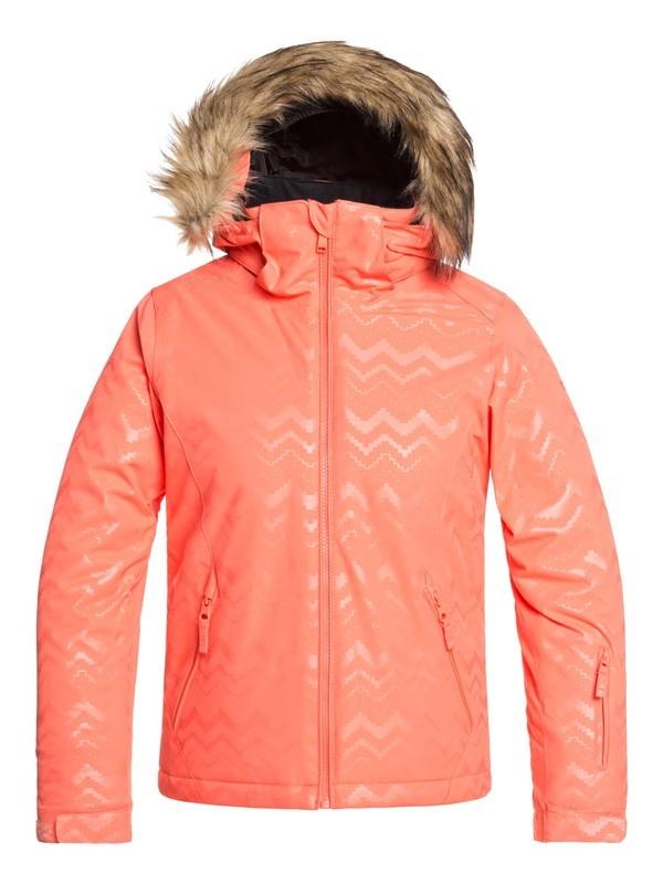 0 Jet Ski - Veste de snow pour Fille 8-16 ans Rose ERGTJ03079 Roxy