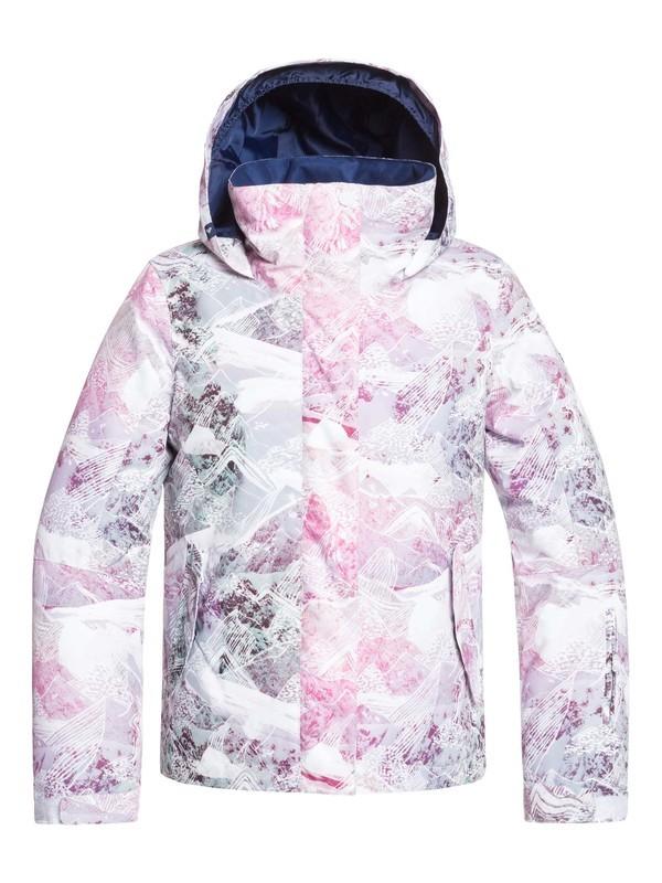 0 ROXY Jetty - Veste de snow pour Fille 8-16 ans Blanc ERGTJ03082 Roxy