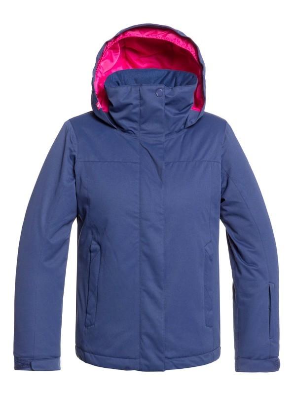0 ROXY Jetty - Veste de snow pour Fille 8-16 ans Bleu ERGTJ03083 Roxy