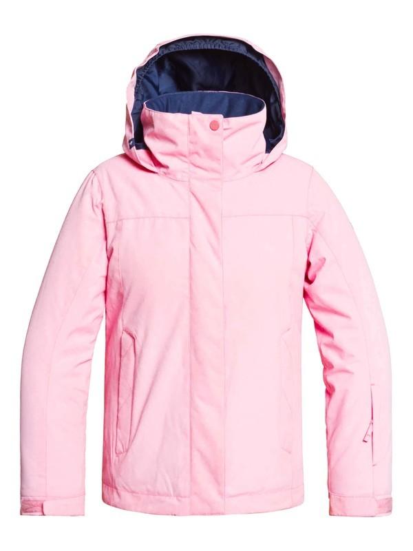 0 ROXY Jetty - Veste de snow pour Fille 8-16 ans Rose ERGTJ03083 Roxy