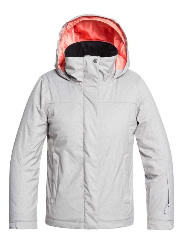0 ROXY Jetty - Veste de snow pour Fille 8-16 ans Gris ERGTJ03083 Roxy