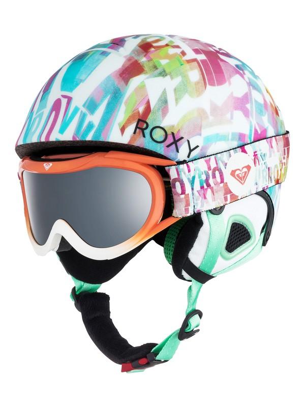 0 Girl's 7-14 Girls 7-14 Misty Helmet and Goggle Set  ERGTL03001 Roxy