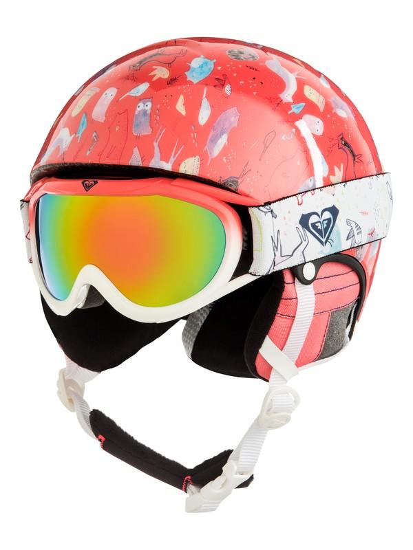 0 Misty - Pack casque + masque pour Fille 8-16 ans Rose ERGTL03001 Roxy