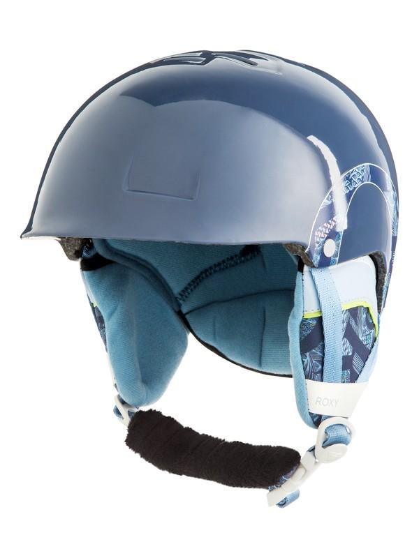 0 Happyland - Casque de snowboard/ski pour Fille 8-16 ans Bleu ERGTL03010 Roxy