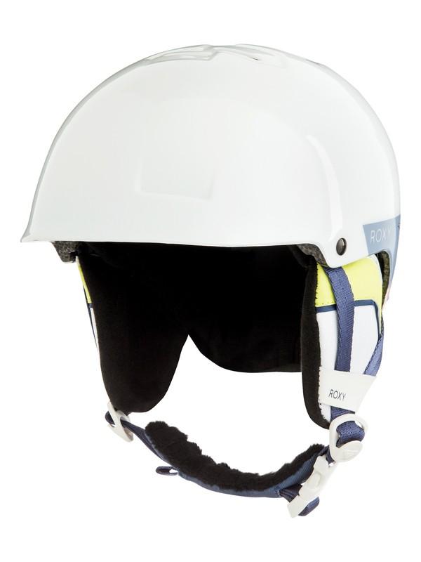 0 Happyland - Casque de snowboard/ski pour Fille 8-16 ans Blanc ERGTL03010 Roxy