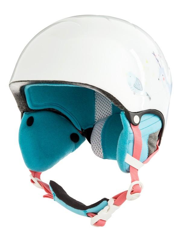 0 Misty - Casco de snowboard/esquí para Chicas 8-16 Blanco ERGTL03012 Roxy