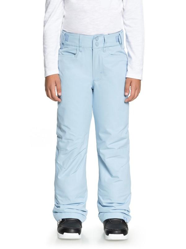 0 Backyard - Pantalones Para Nieve para Chicas 8-16 Azul ERGTP03015 Roxy