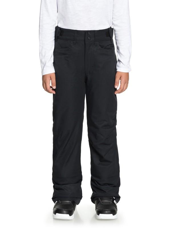 0 Backyard - Pantalon de snow pour Fille 8-16 ans Noir ERGTP03015 Roxy