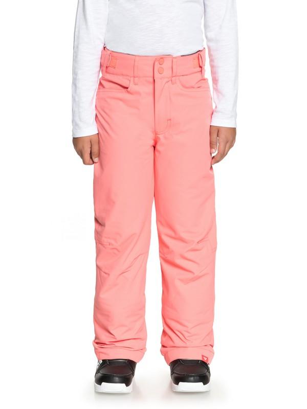 0 Backyard - Pantalones Para Nieve para Chicas 8-16 Rosa ERGTP03015 Roxy