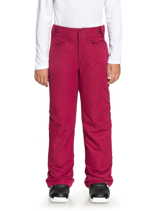 0 Backyard - Pantalon de snow pour Fille 8-16 ans Rouge ERGTP03015 Roxy