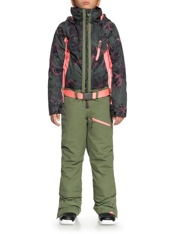0 Impression - Traje de nieve para Chicas 8-16 Negro ERGTS03001 Roxy