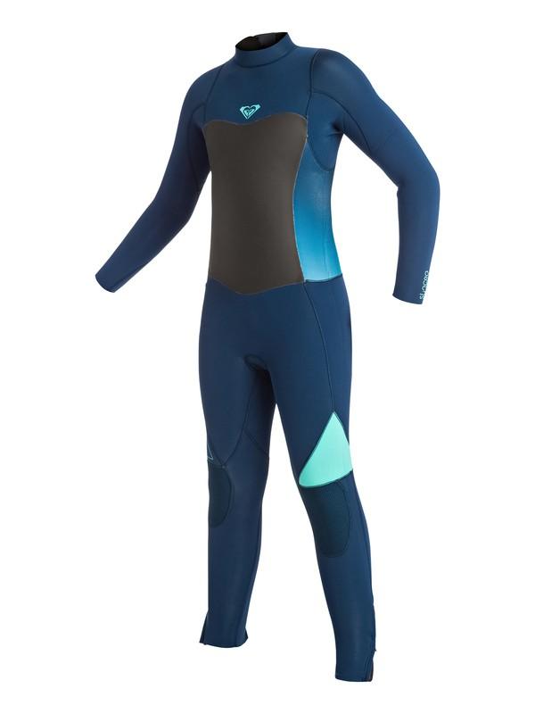 0 Syncro 3/2mm - Traje De Surf Integral Con Cremallera Trasera Azul ERGW103003 Roxy