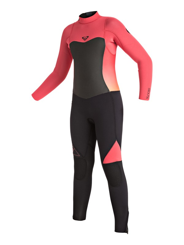0 Syncro 3/2mm - Back Zip Wetsuit Rosa ERGW103003 Roxy