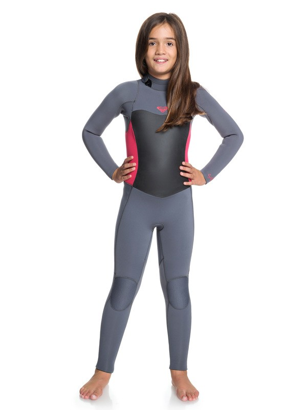 0 4/3mm Syncro Series - Back Zip GBS Wetsuit Pink ERGW103016 Roxy