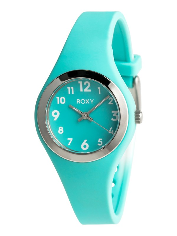 0 Alley S - Analogue Watch for Girls 8-16 Green ERGWA03000 Roxy