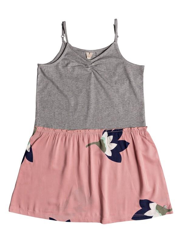 0 Girl's 7-14 Greatest Wish Strappy Dress Pink ERGWD03050 Roxy