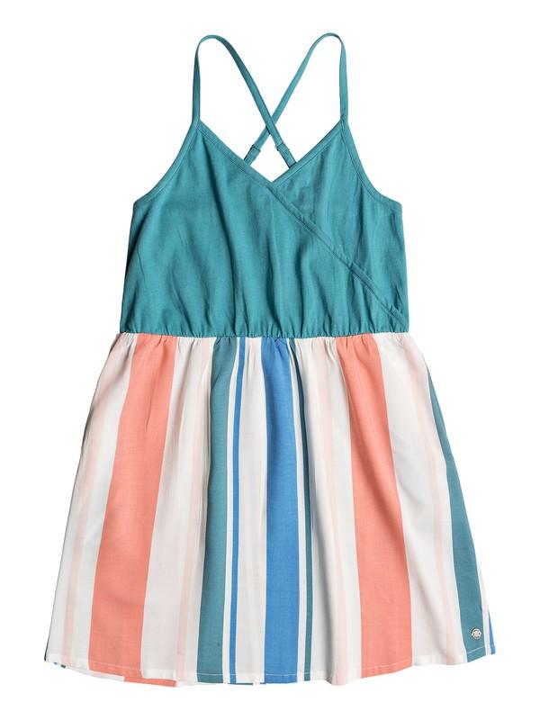 0 Girl's 7-14 Far Away Strappy Dress White ERGWD03076 Roxy
