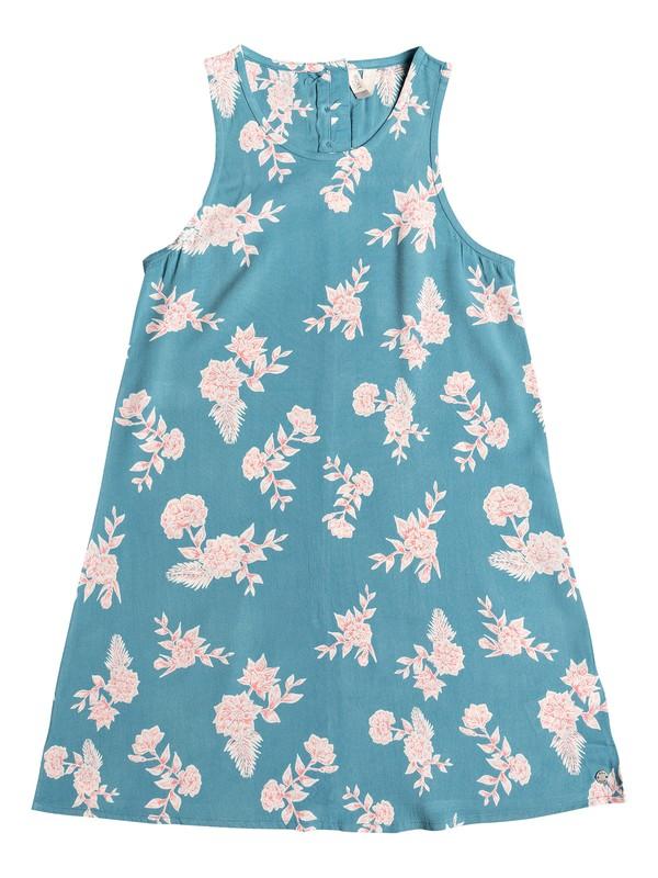 0 Girl's 7-14 Better Day Tank Dress Blue ERGWD03077 Roxy