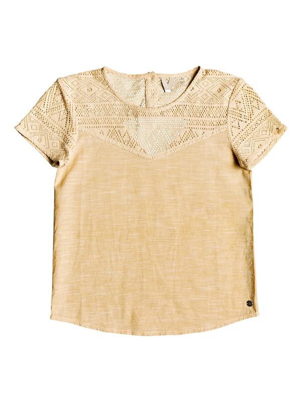 0 Girl's 7-14 Sun's Hidden Short Sleeve Top  ERGWT03039 Roxy
