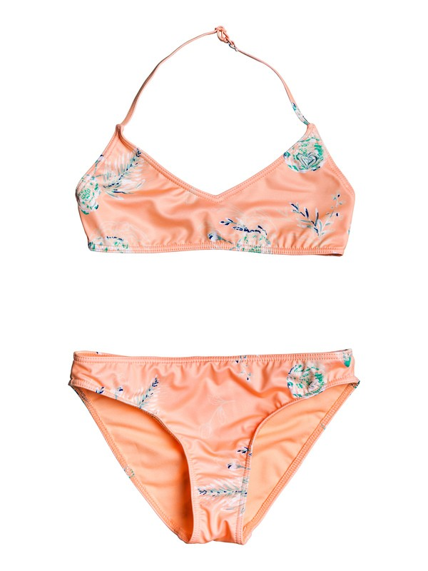 0 Darling Girl - Ensemble de bikini bralette pour Fille 8-16 ans Rose ERGX203189 Roxy