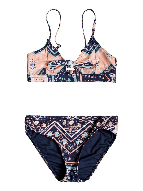 0 Heart In The Waves - Ensemble de bikini Sporty tri pour Fille 8-16 ans Bleu ERGX203199 Roxy