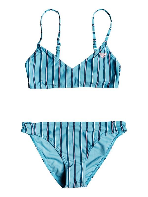 0 Surf My Mind Athletic Bikini Set Blue ERGX203243 Roxy