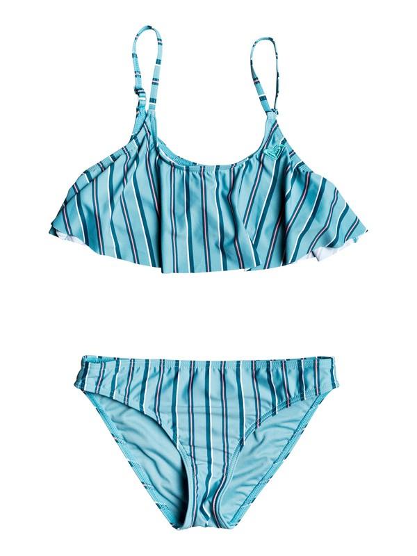 0 Surf My Mind Flutter Bikini Set Blue ERGX203244 Roxy