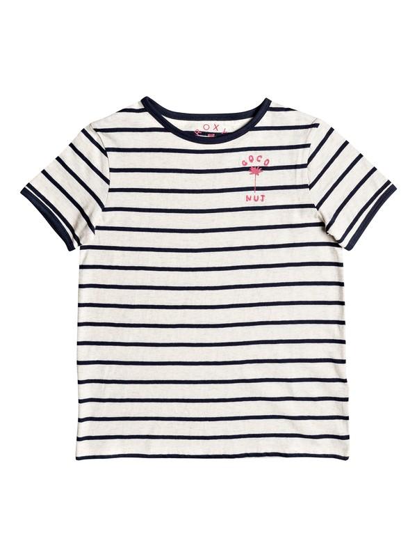 0 Telling Stories - T-Shirt für Mädchen 8-16 Blau ERGZT03263 Roxy