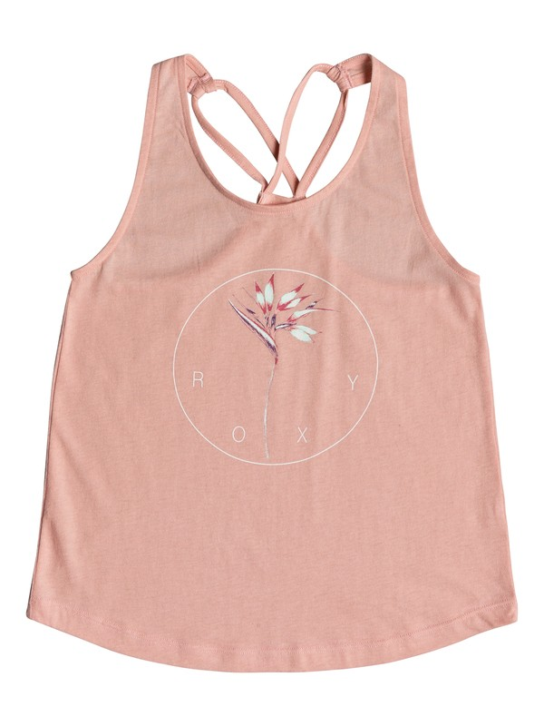 0 Girl's 7-14 Discover Something B Strappy Top  ERGZT03304 Roxy
