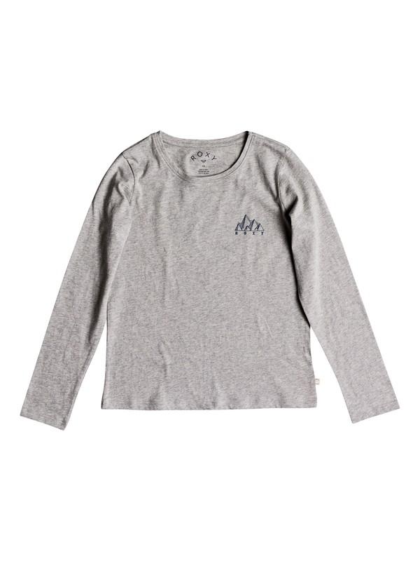 0 Girl's 7-14 Gradual Awakening Long Sleeve Tee Grey ERGZT03327 Roxy