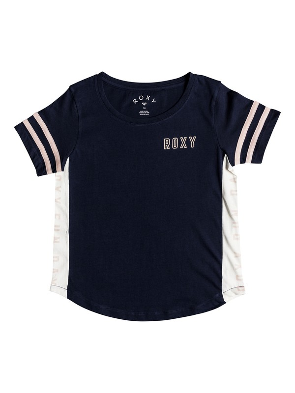 0 Lucky You - Camiseta para Chicas 8-16 Azul ERGZT03336 Roxy