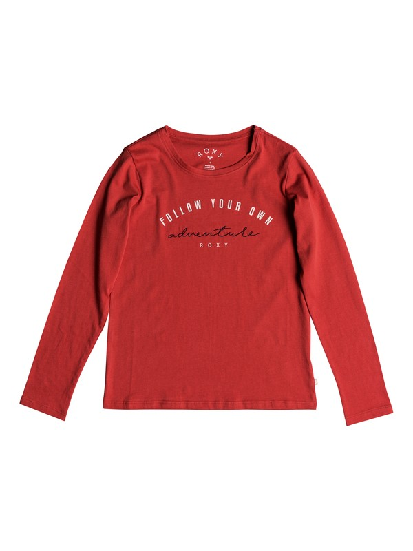 0 Girl's 7-14 Gradual Awakening Long Sleeve Tee Pink ERGZT03343 Roxy