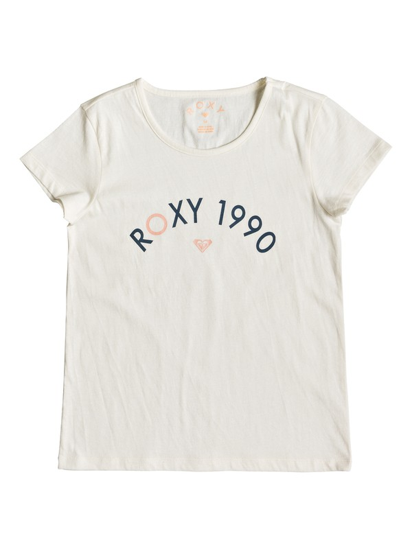 0 Roses In The Rain - T-shirt pour Fille 8-16 ans Blanc ERGZT03390 Roxy