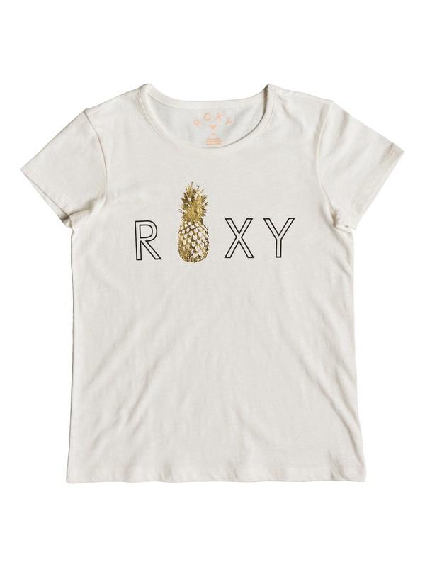 0 Girl's 7-14 Stars Dont Shine Tee White ERGZT03391 Roxy