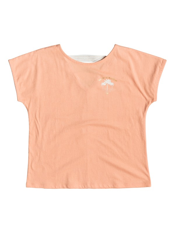 0 Story Goes B - T-shirt pour Fille 8-16 ans Rose ERGZT03400 Roxy