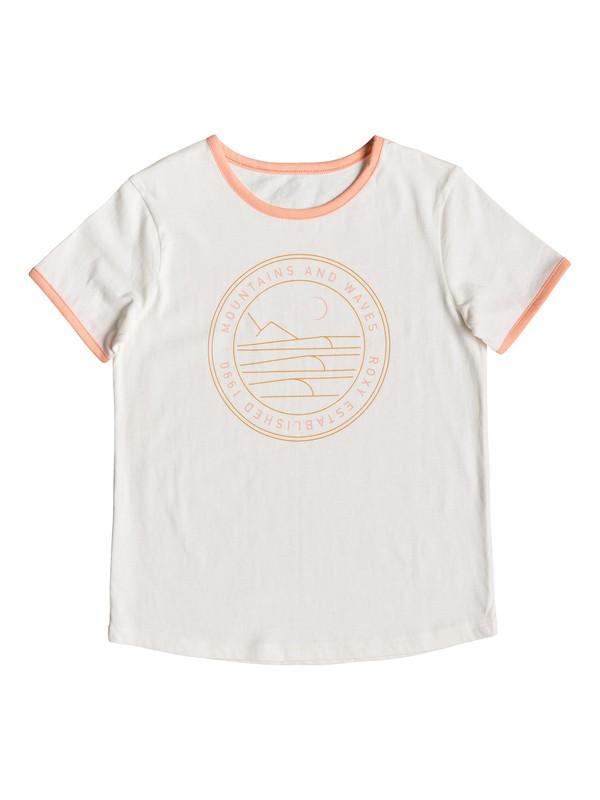 0 Eye On You B - T-shirt pour Fille 8-16 ans Blanc ERGZT03414 Roxy
