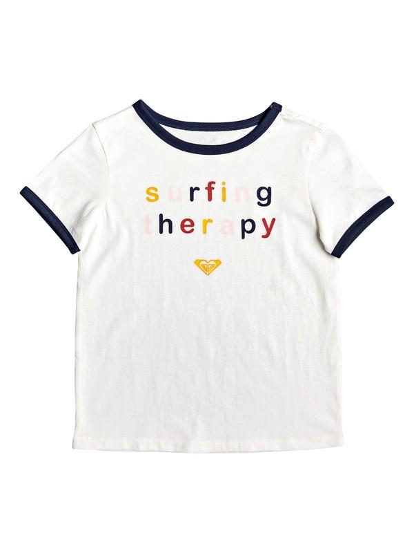 0 Love Break - T-shirt pour Fille 4-16 Blanc ERGZT03482 Roxy