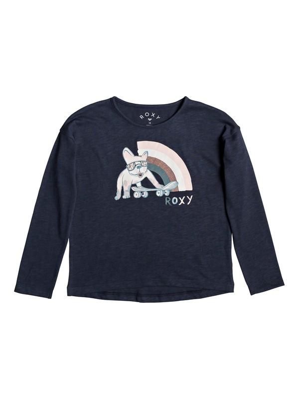 0 Only Time A - Long Sleeve T-Shirt Blue ERGZT03483 Roxy