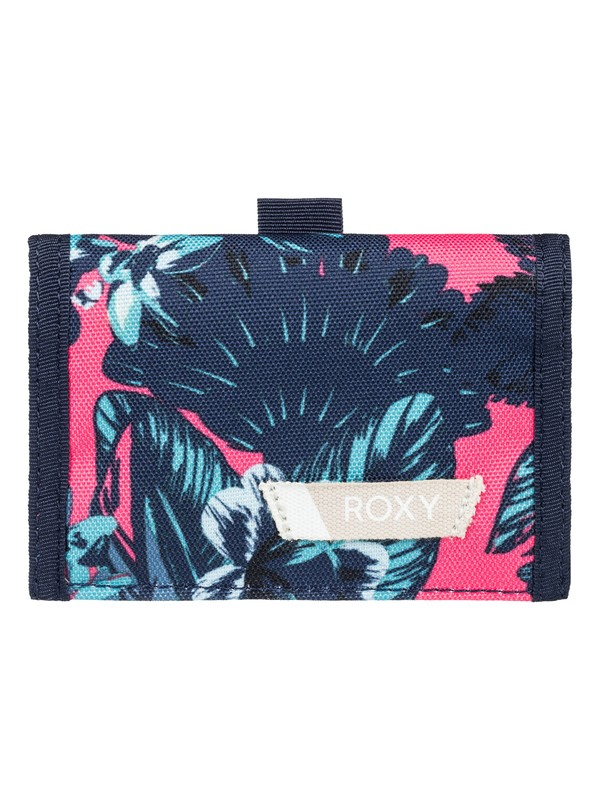 0 Small Beach - Tri-Fold Wallet for Women Pink ERJAA03387 Roxy