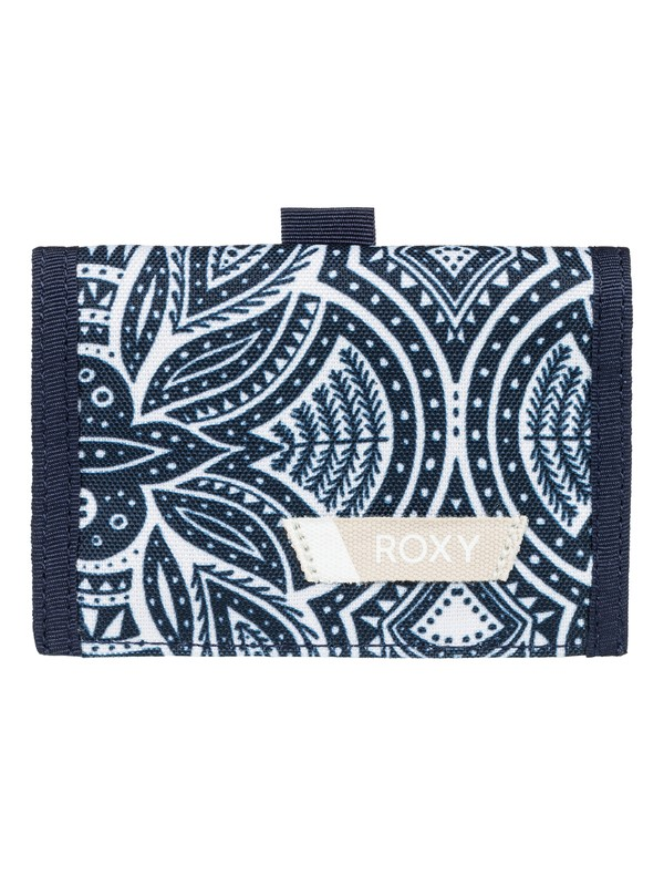 0 Small Beach - Tri-Fold Wallet for Women White ERJAA03387 Roxy