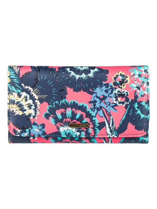 0 My Long Eyes - Dreifach faltbares Portemonnaie für Frauen Rosa ERJAA03389 Roxy