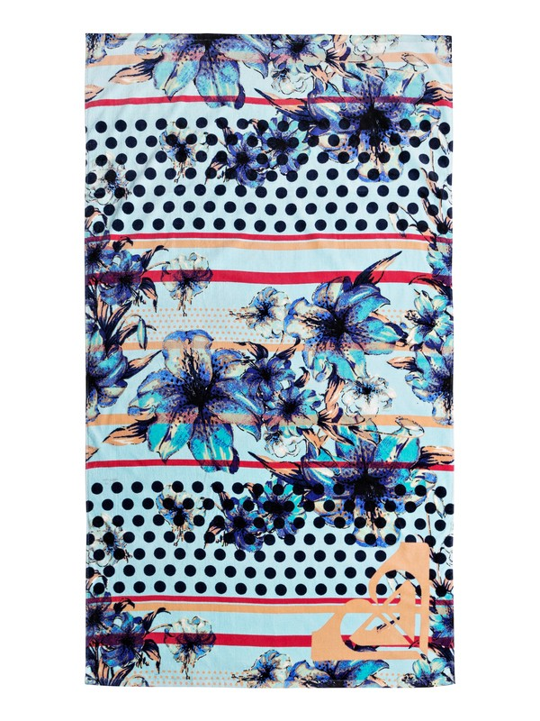 0 Hazy - Beach Towel Blue ERJAA03404 Roxy