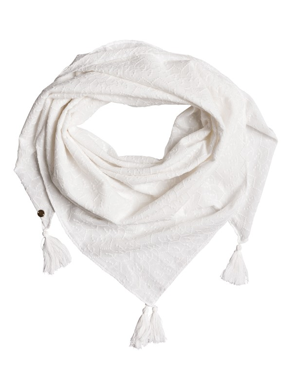 0 Take A - Square Scarf for Women White ERJAA03412 Roxy