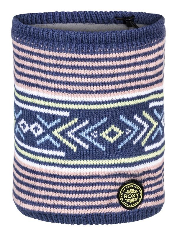 0 Joya Vale Neck Warmer Blue ERJAA03425 Roxy