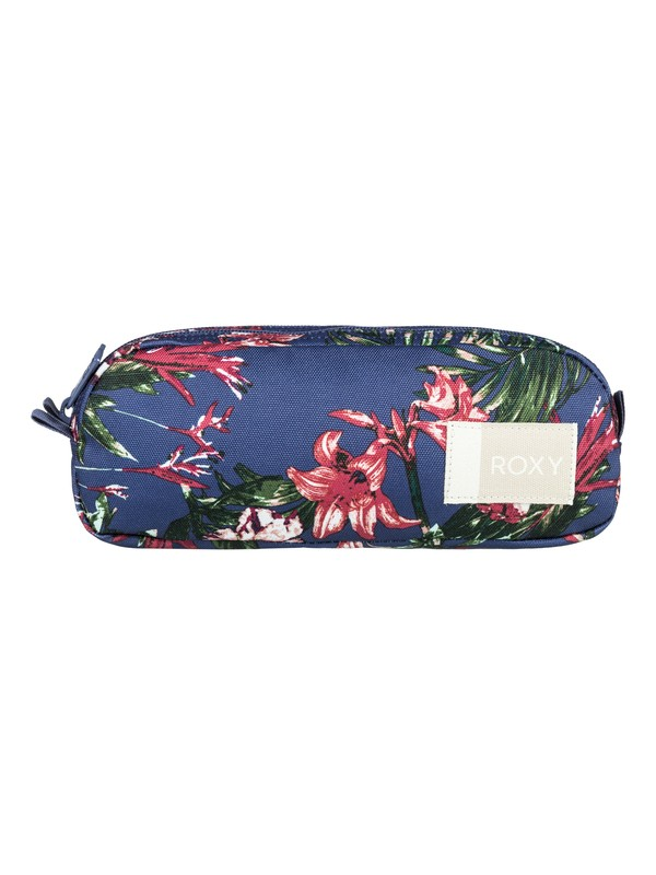 0 Da Rock Pencil Case Blue ERJAA03450 Roxy