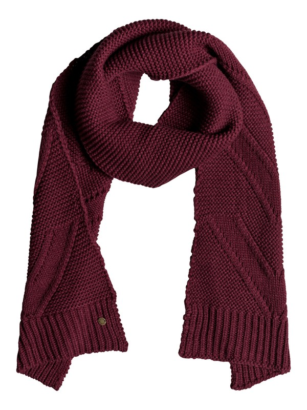 0 Lovers Soul Knitted Scarf Red ERJAA03520 Roxy