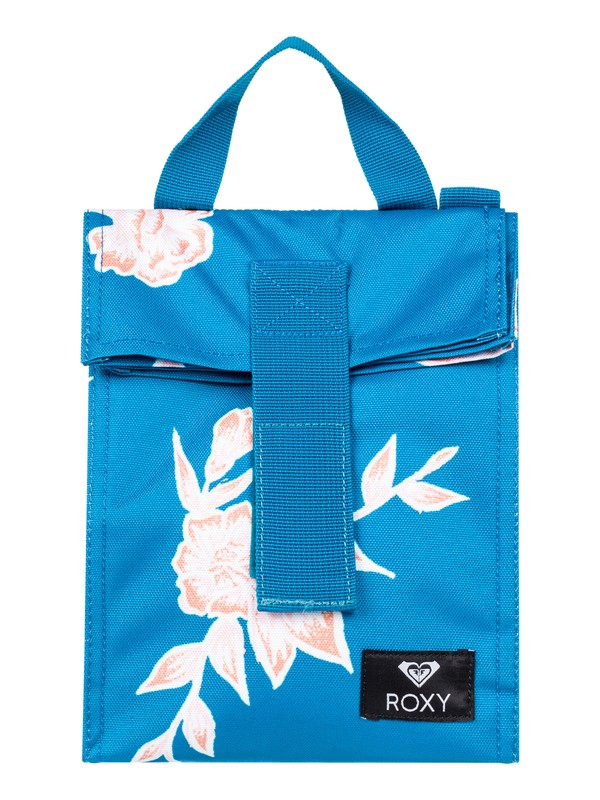 0 Lunch Hour Insulated Lunch Bag Blue ERJAA03603 Roxy