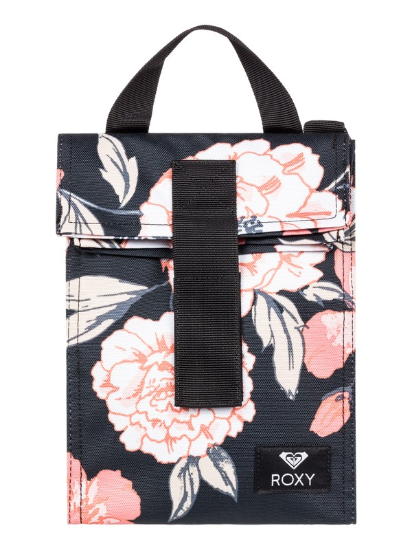 0 Lunch Hour Insulated Lunch Bag Black ERJAA03603 Roxy