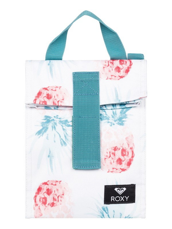 0 Lunch Hour Insulated Lunch Bag White ERJAA03603 Roxy